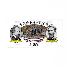 Stones River Aluminum License Plate