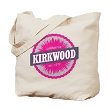 Kirkwood Mountain Ski Resort California Pink Tote