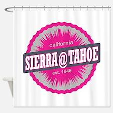 Sierra-at-Tahoe Ski Resort California Pink Shower