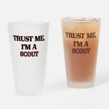 Trust Me, I'm a Scout Drinking Glass