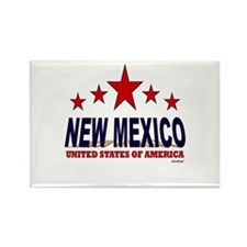 New Mexico U.S.A. Rectangle Magnet
