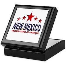 New Mexico U.S.A. Keepsake Box