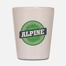 Alpine Meadows Ski Resort California Lime Green Sh