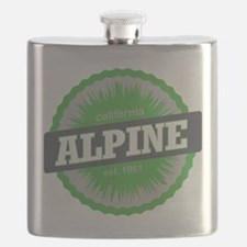 Alpine Meadows Ski Resort California Lime Green Fl