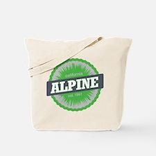 Alpine Meadows Ski Resort California Lime Green To