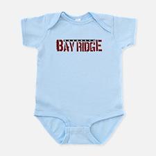 Bay Ridge Infant Bodysuit (pink, blue, white)