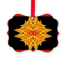 Hot with Flair Ornament