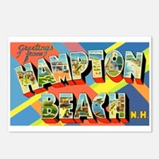 Hampton Beach New Hampshire Postcards (Package of