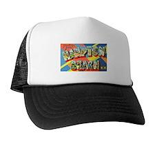 Hampton Beach New Hampshire Trucker Hat