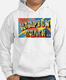 Hampton Beach New Hampshire (Front) Hoodie