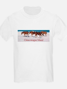 Chincoteague Island Kids T-Shirt