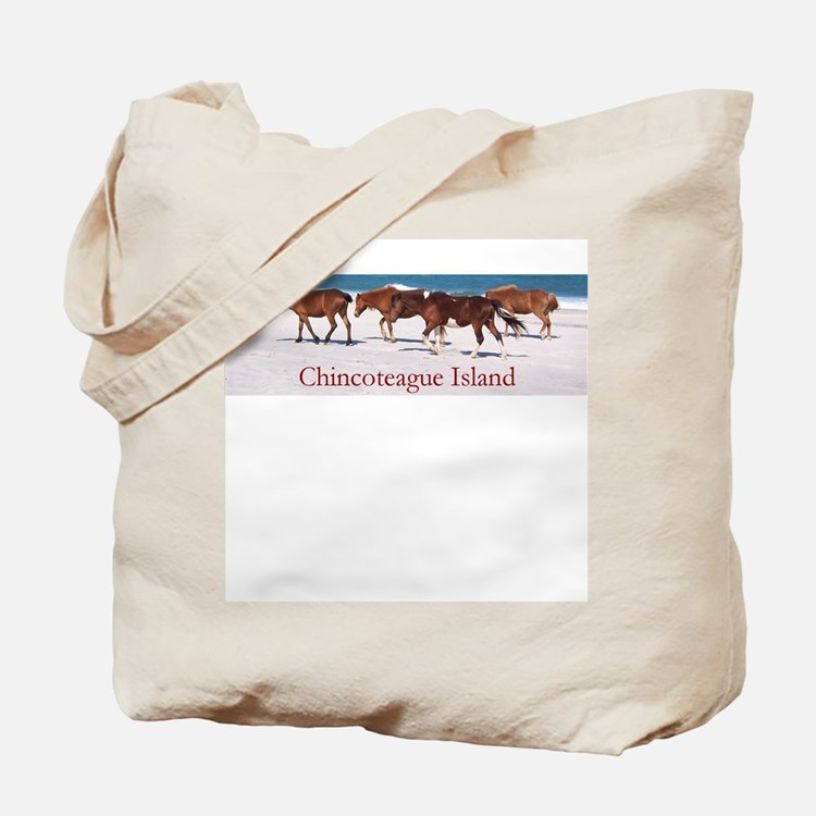 Chincoteague Island Tote Bag