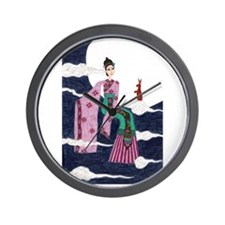 Chang E Wall Clock