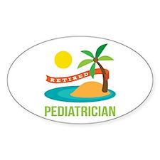 Retired Pediatrician Decal