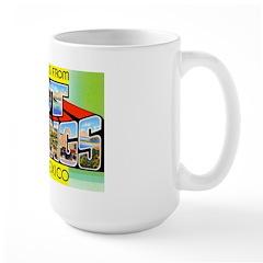 Hot Springs New Mexico Large Mug