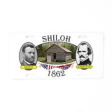 Shiloh Aluminum License Plate