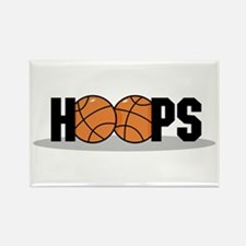 Hoops Rectangle Magnet
