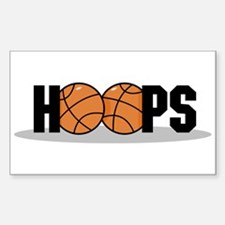 Hoops Rectangle Decal