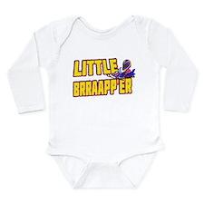 Little Brraapp'er Long Sleeve Infant Bodysuit