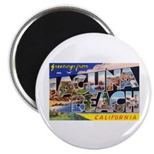 Laguna Beach California Greetings Magnet