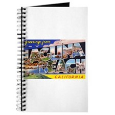 Laguna Beach California Greetings Journal