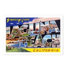 Laguna Beach California Greetings Postcards (Packa