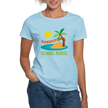 Retired School Nurse Women's Light T-Shirt