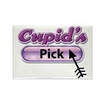 Cupid's Pick Rectangle Magnet