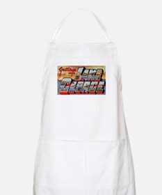 Lake George Greetings BBQ Apron