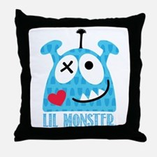 Igor, the Monster Throw Pillow
