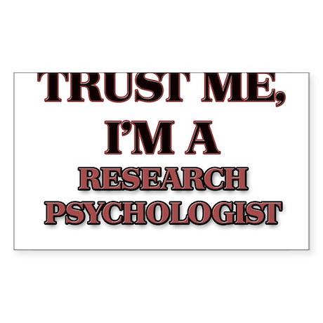 Trust Me, I'm a Research Psychologist Sticker