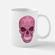 Pink Camouflage Skull Mugs