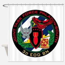 3d EOD JTF Paladin-South Shower Curtain
