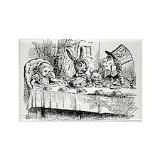 Vintage Alice in Wonderland Rectangle Magnet