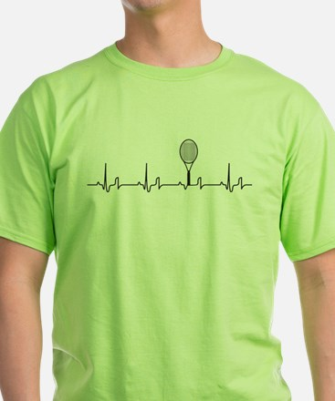 Tennis Heartbeat T-Shirt