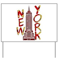 Empire State Building 2f Yard Sign