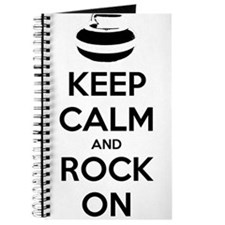Keep Calm and Rock On - Curling Journal