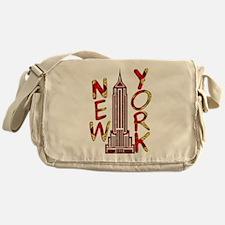 Empire State Building 2f Messenger Bag