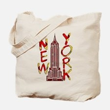 Empire State Building 2f Tote Bag