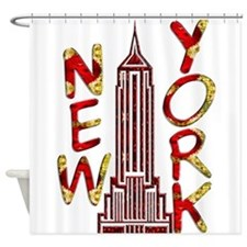 Empire State Building 2f Shower Curtain