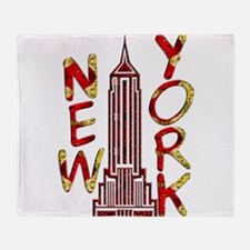 Empire State Building 2f Throw Blanket