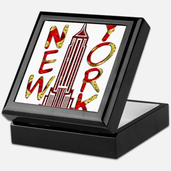 Empire State Building 2f Keepsake Box
