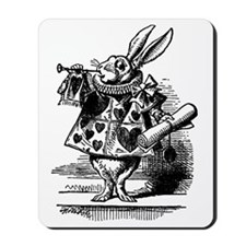 Vintage Alice in Wonderland Mousepad