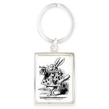 Vintage Alice in Wonderland Portrait Keychain
