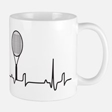 Tennis Heartbeat Mug
