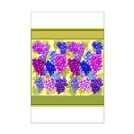 Grapes On Vineyard Leaves Posters
