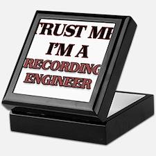 Trust Me, I'm a Recording Engineer Keepsake Box