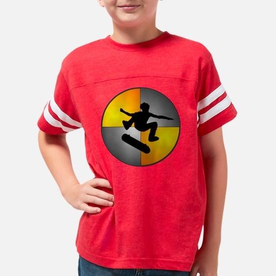 skater_nuke_lrg Youth Football Shirt