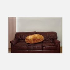 Couch Potato Rectangle Magnet