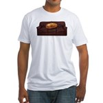 Couch Potato Fitted T-Shirt